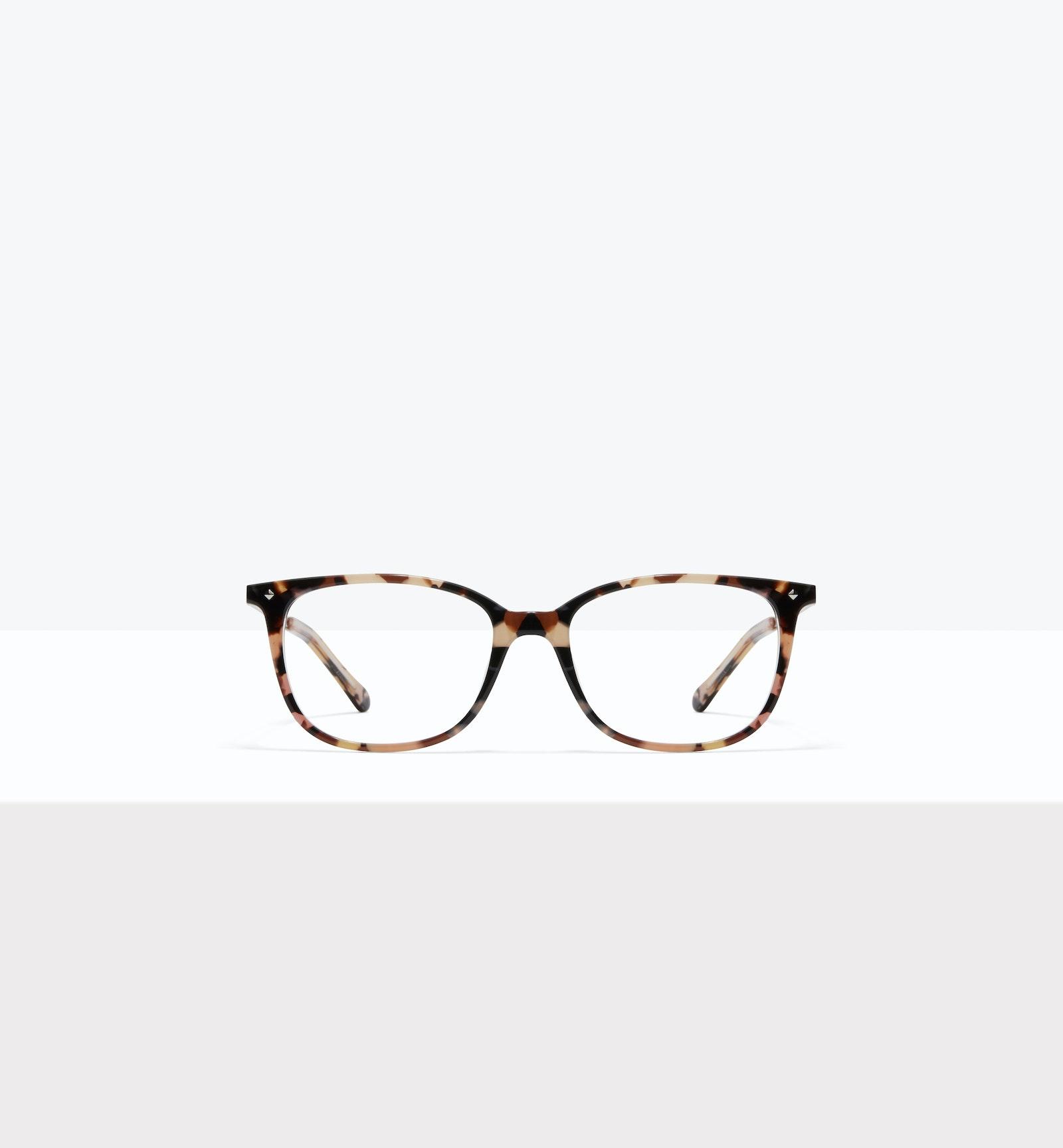 Affordable Fashion Glasses Rectangle Square Eyeglasses Women Refine S Pastel Tort