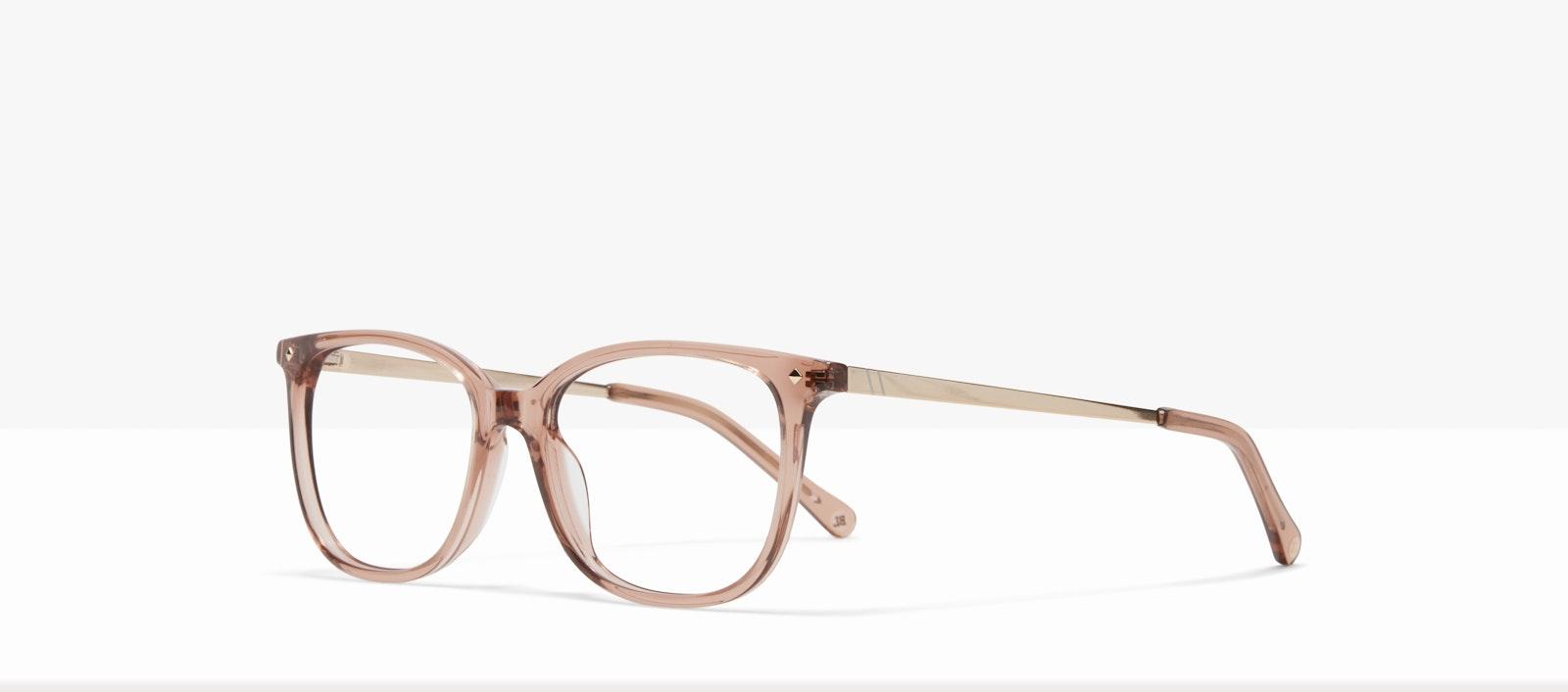 Affordable Fashion Glasses Rectangle Square Eyeglasses Women Refine S Rose Tilt