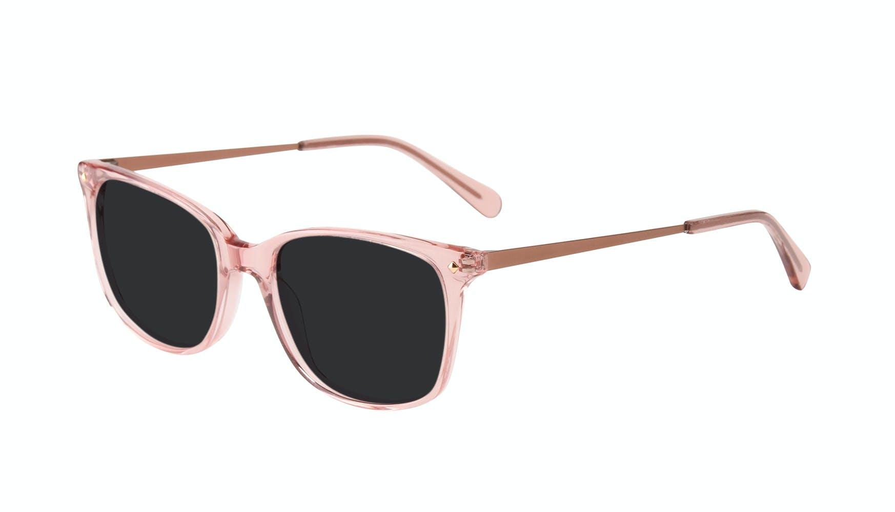 Affordable Fashion Glasses Rectangle Square Sunglasses Women Refine Rose Tilt