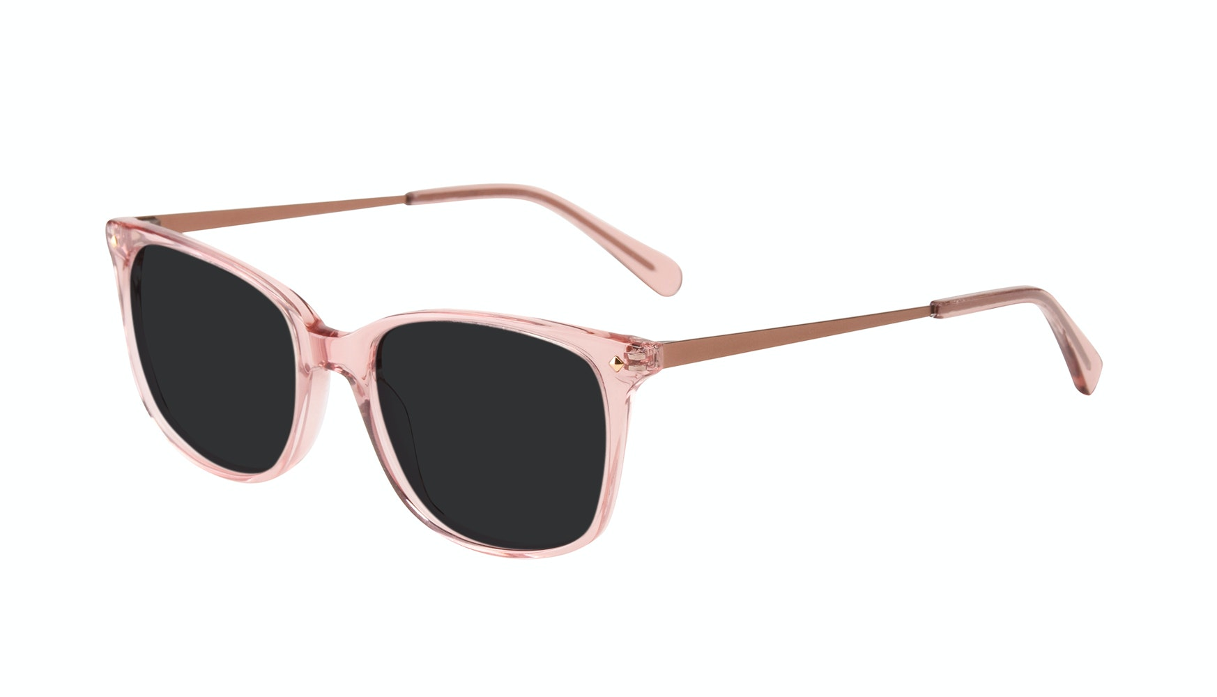 Affordable Fashion Glasses Rectangle Square Sunglasses Women Refine Rose Tilt