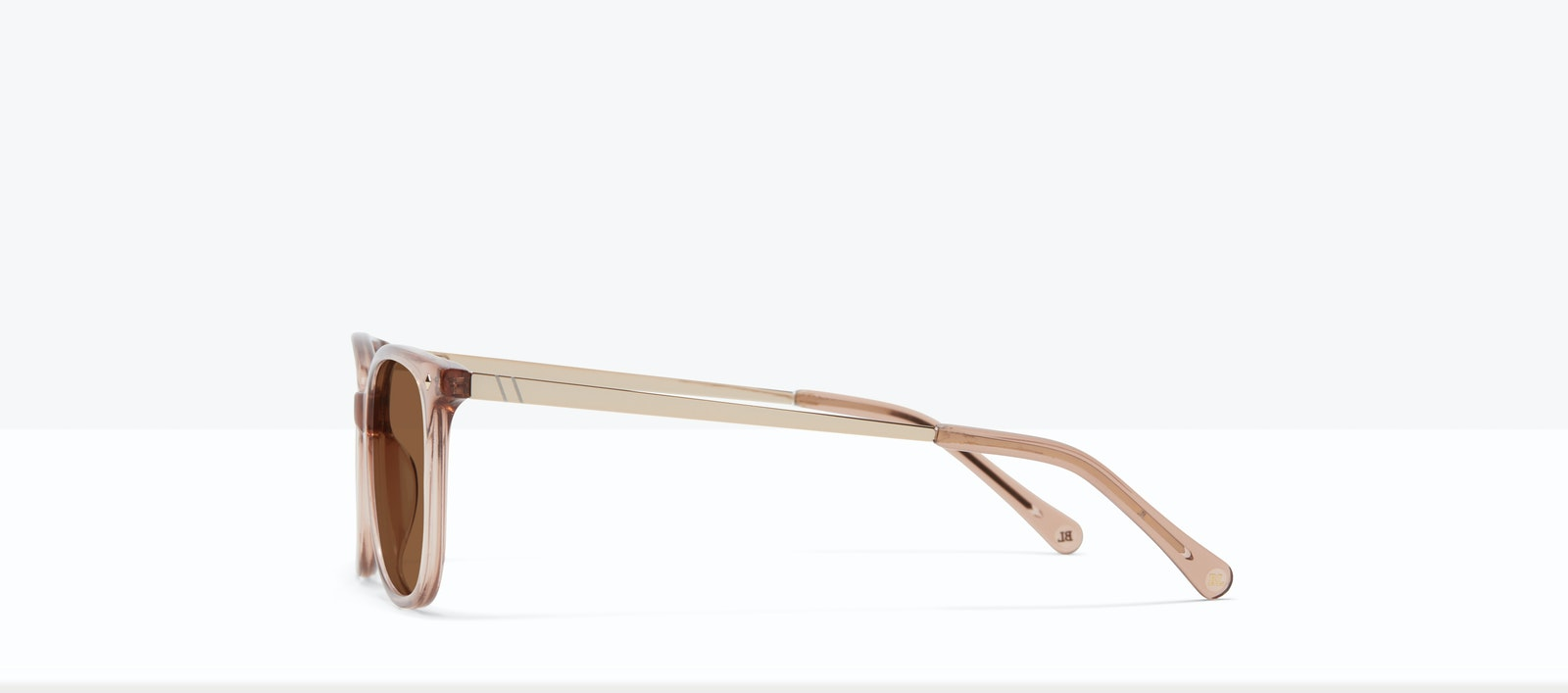 Affordable Fashion Glasses Rectangle Square Sunglasses Women Refine S Rose Side