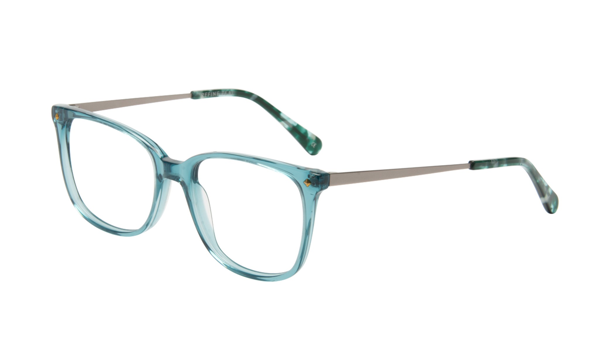 870bf3f6f8a0 Affordable fashion glasses rectangle square eyeglasses women refine teal  tilt jpg 1600x707 Mlg glasses tilted