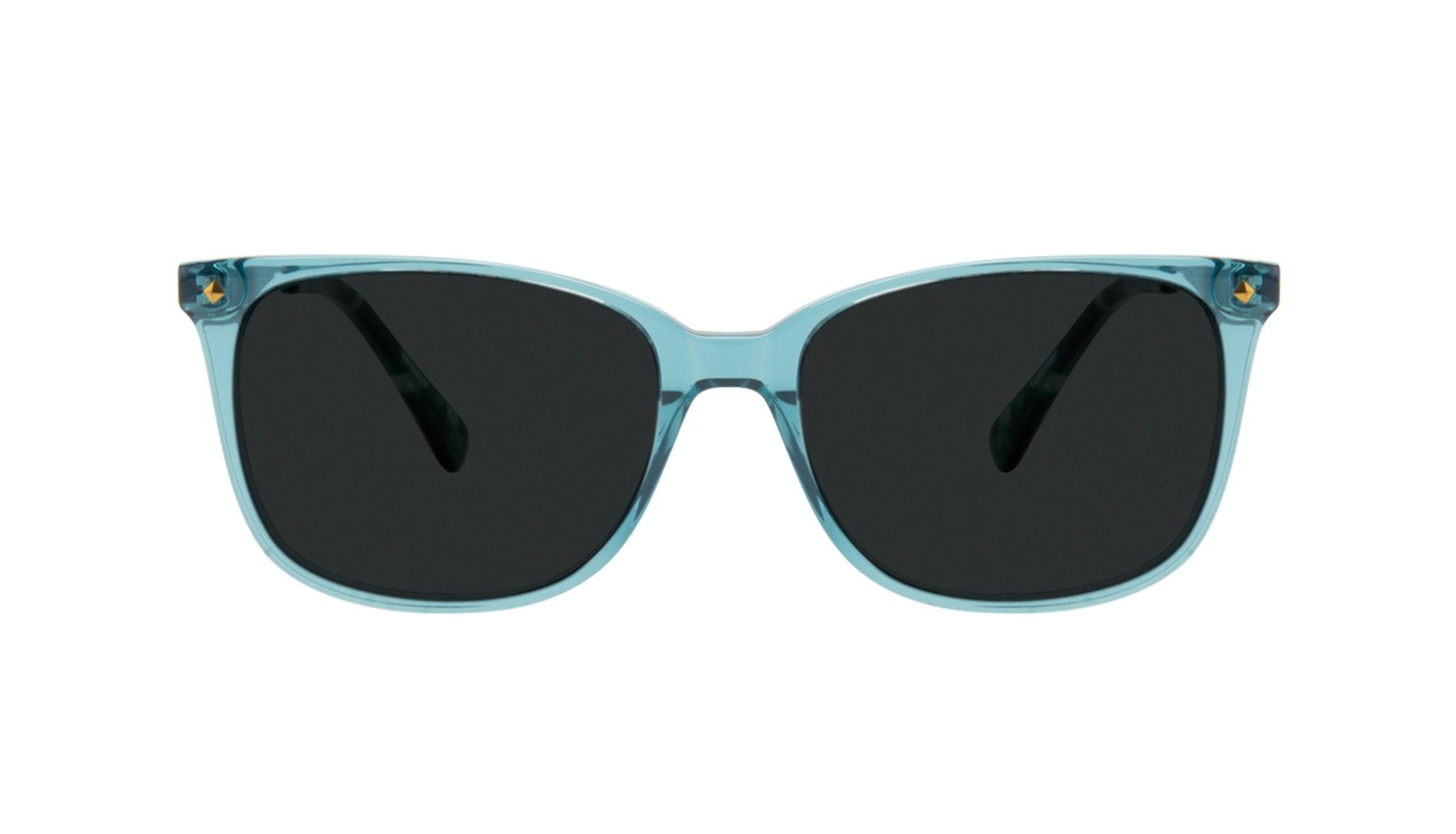 Affordable Fashion Glasses Rectangle Square Sunglasses Women Refine Teal