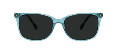 Affordable Fashion Glasses Rectangle Square Sunglasses Women Refine Teal Front
