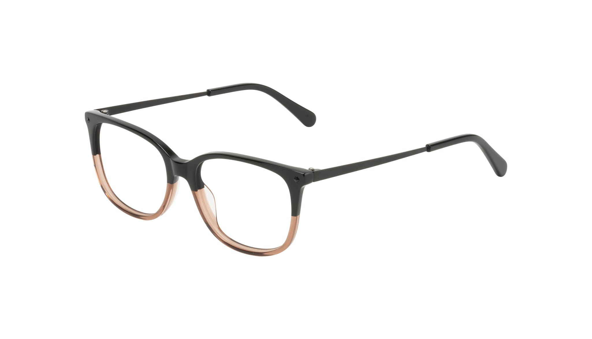Affordable Fashion Glasses Rectangle Square Eyeglasses Women Refine Wood Terra Tilt