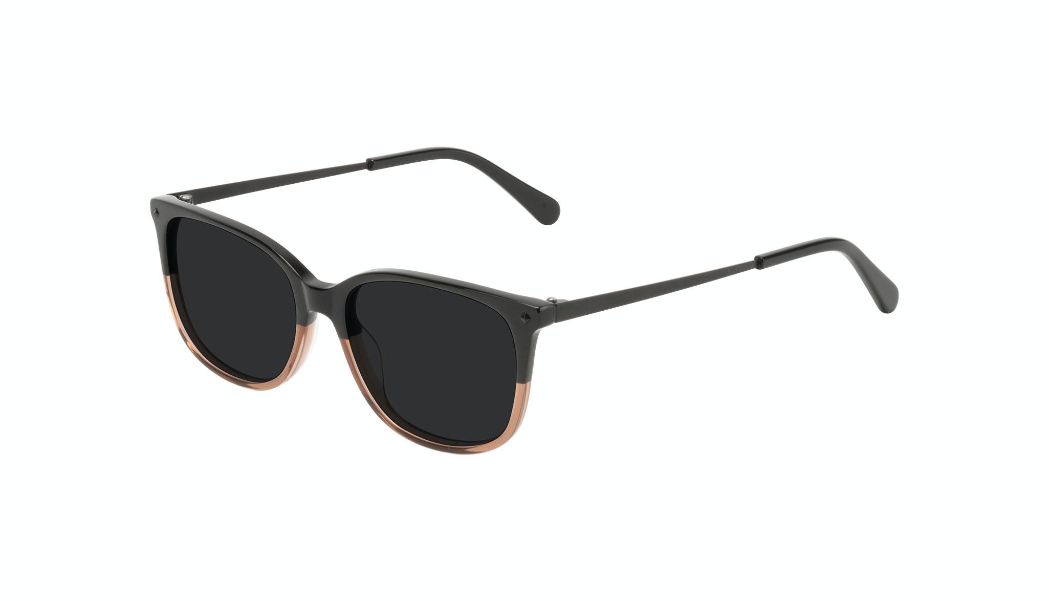 Affordable Fashion Glasses Rectangle Square Sunglasses Women Refine Wood Terra Tilt