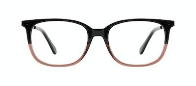 Affordable Fashion Glasses Rectangle Square Eyeglasses Women Refine M Wood Terra Front