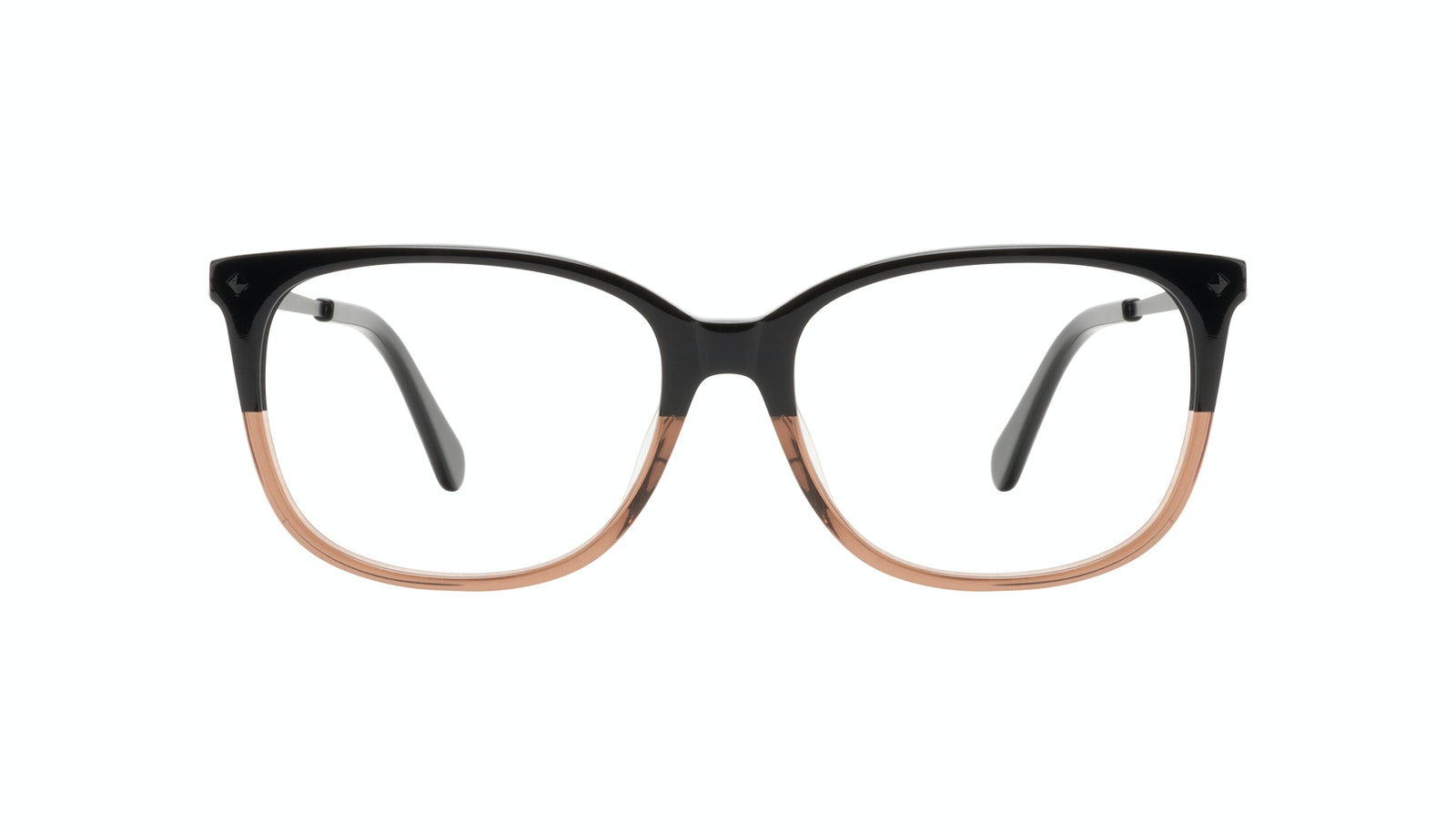 Affordable Fashion Glasses Rectangle Square Eyeglasses Women Refine Wood Terra