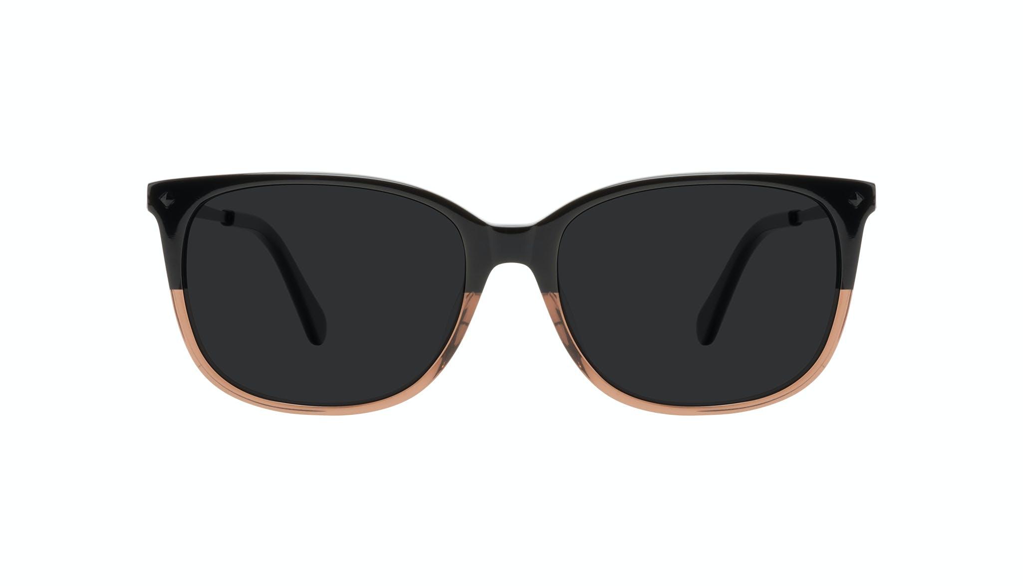 Affordable Fashion Glasses Rectangle Square Sunglasses Women Refine Wood Terra