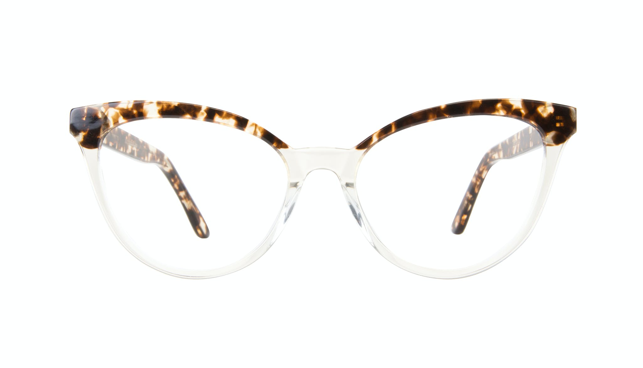 Affordable Fashion Glasses Cat Eye Daring Cateye Eyeglasses Women Reverie Blond Tortoise Front