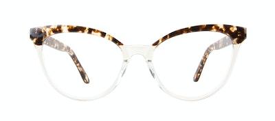 Affordable Fashion Glasses Cat Eye Daring Cateye Eyeglasses Women Reverie Blond Tortoise Front