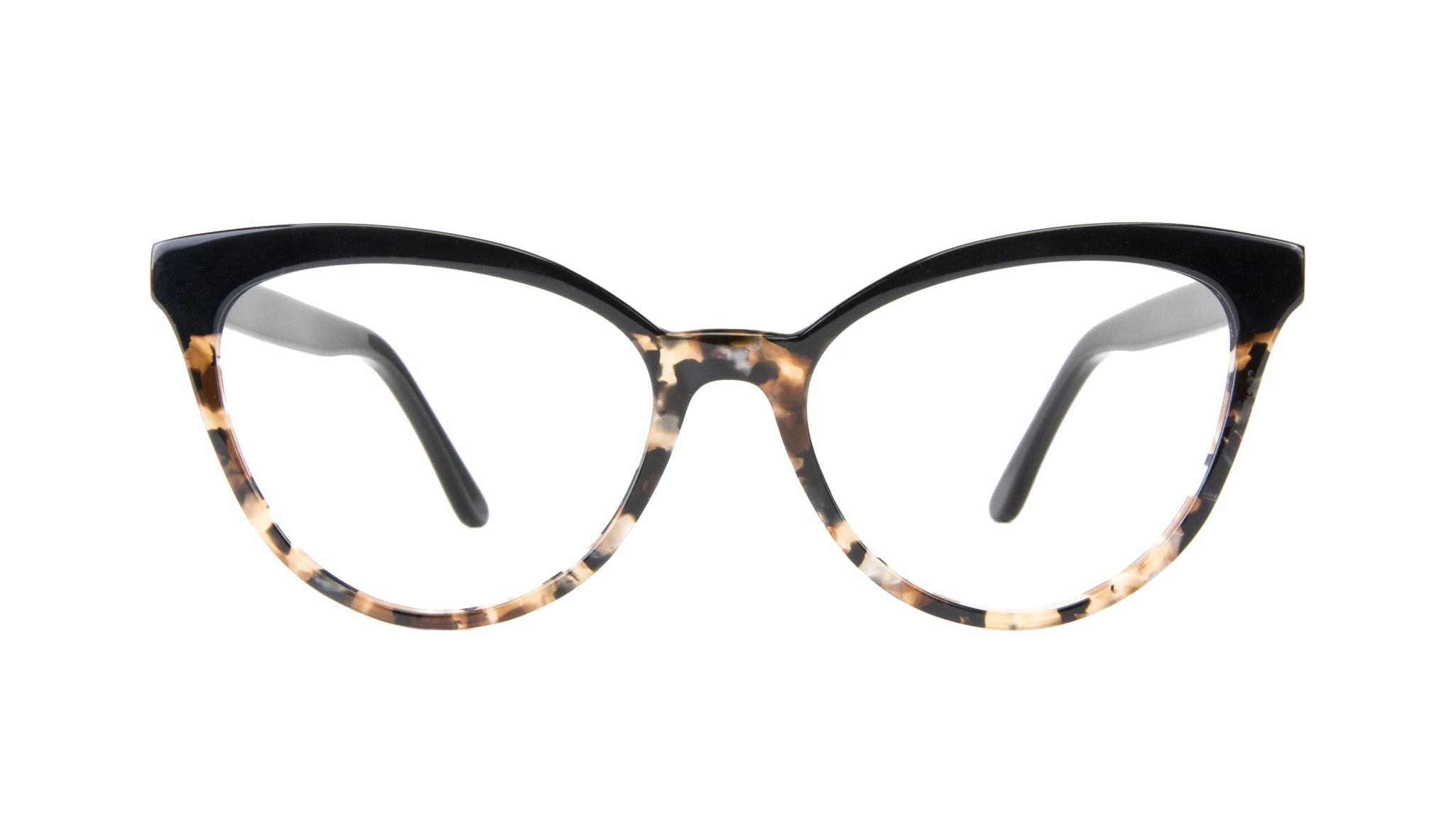 Affordable Fashion Glasses Cat Eye Daring Cateye Eyeglasses Women Reverie Dark Tortoise Front