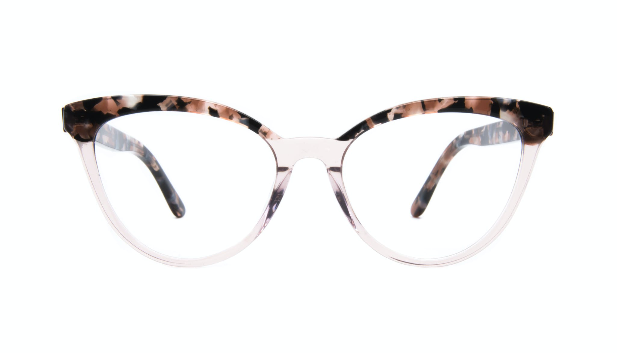 Affordable Fashion Glasses Cat Eye Daring Cateye Eyeglasses Women Reverie Rose Tort Front