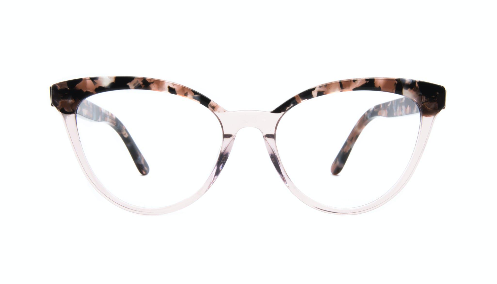 Lunettes tendance Oeil de chat Daring Cateye Lunettes de vue Femmes Reverie Rose Tort