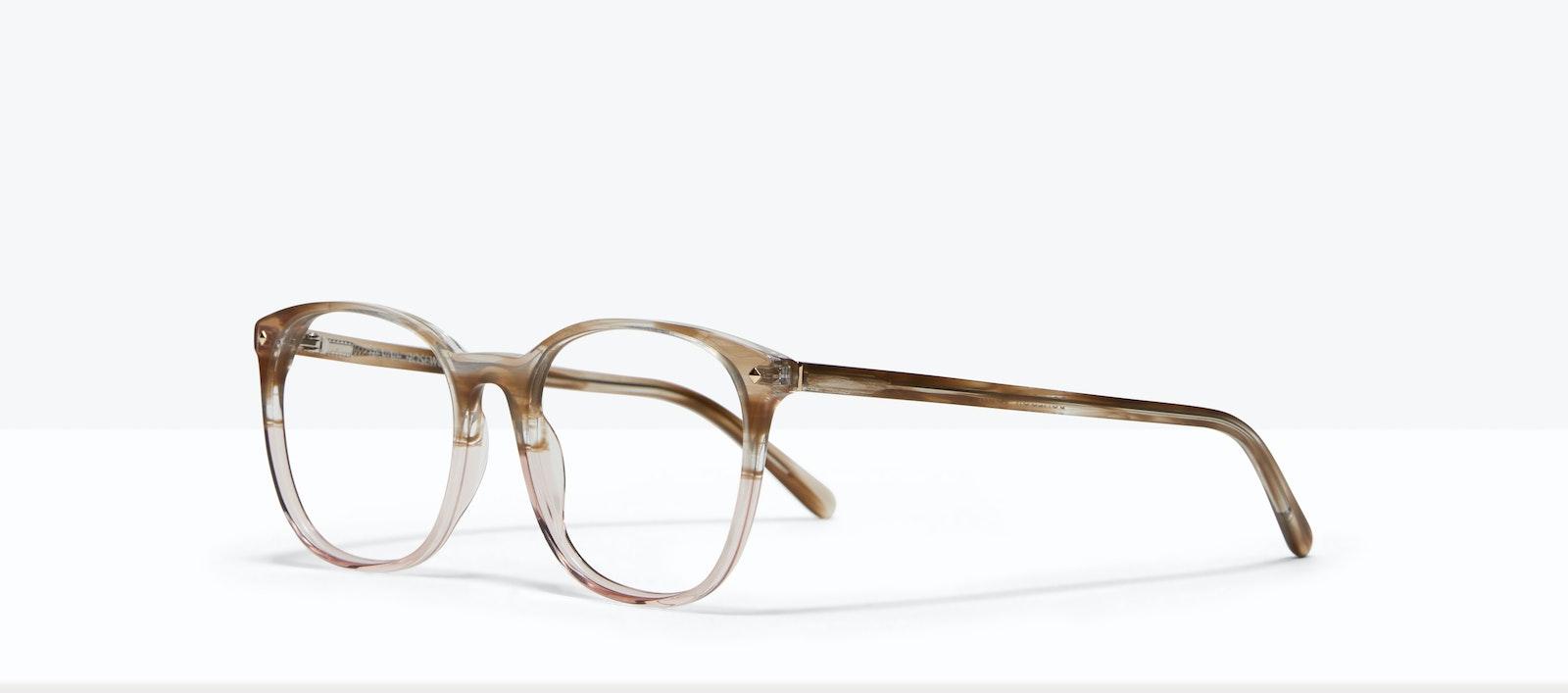 Affordable Fashion Glasses Round Eyeglasses Women Revive Rosewood Tilt