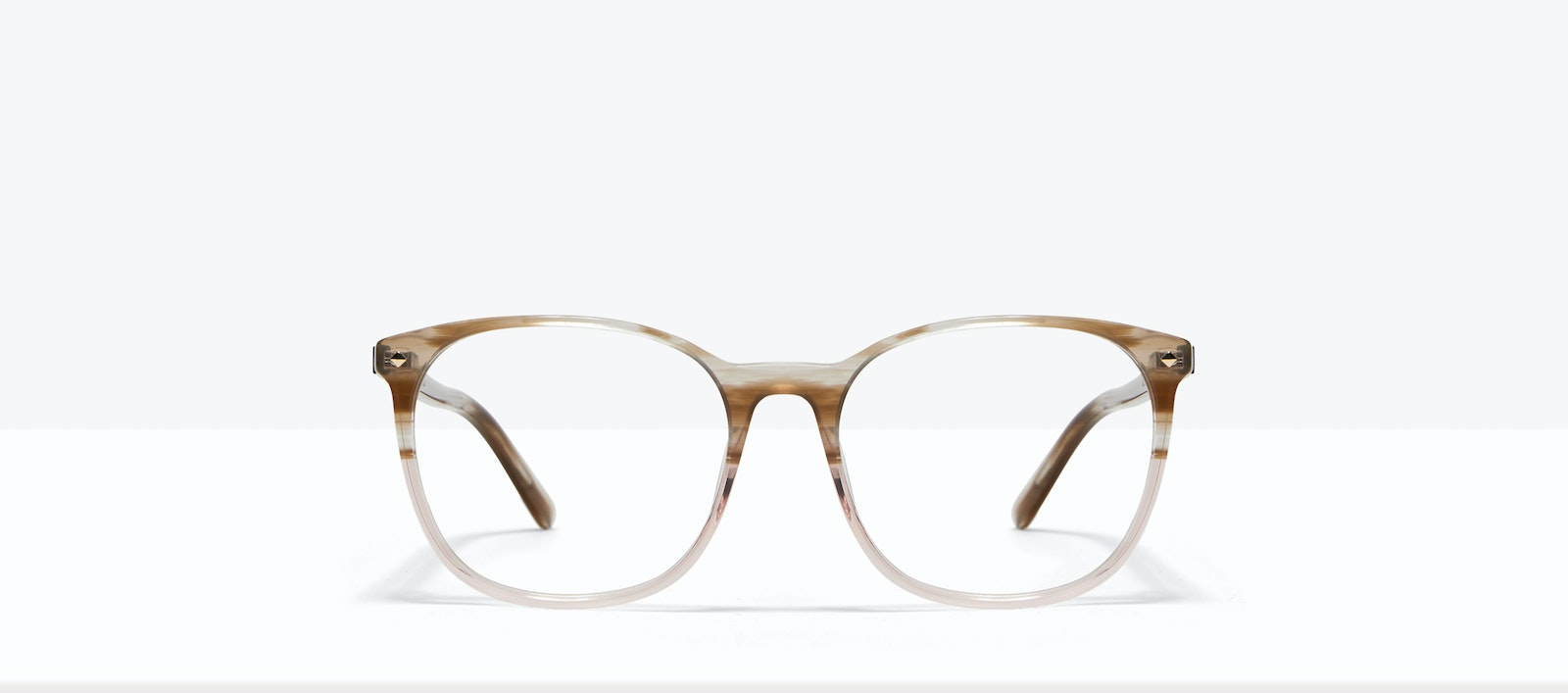 Affordable Fashion Glasses Round Eyeglasses Women Revive Rosewood Front