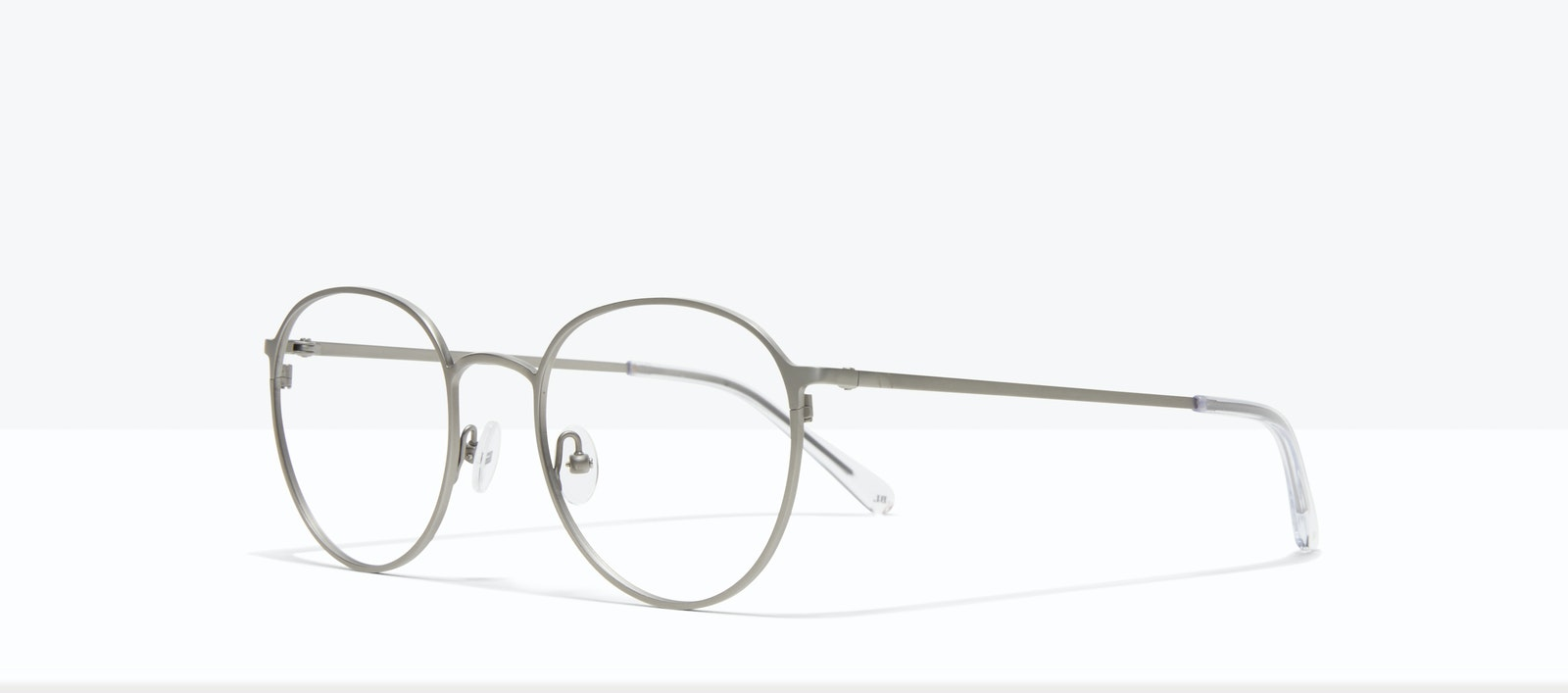 Affordable Fashion Glasses Round Eyeglasses Men Ridge Silver Tilt