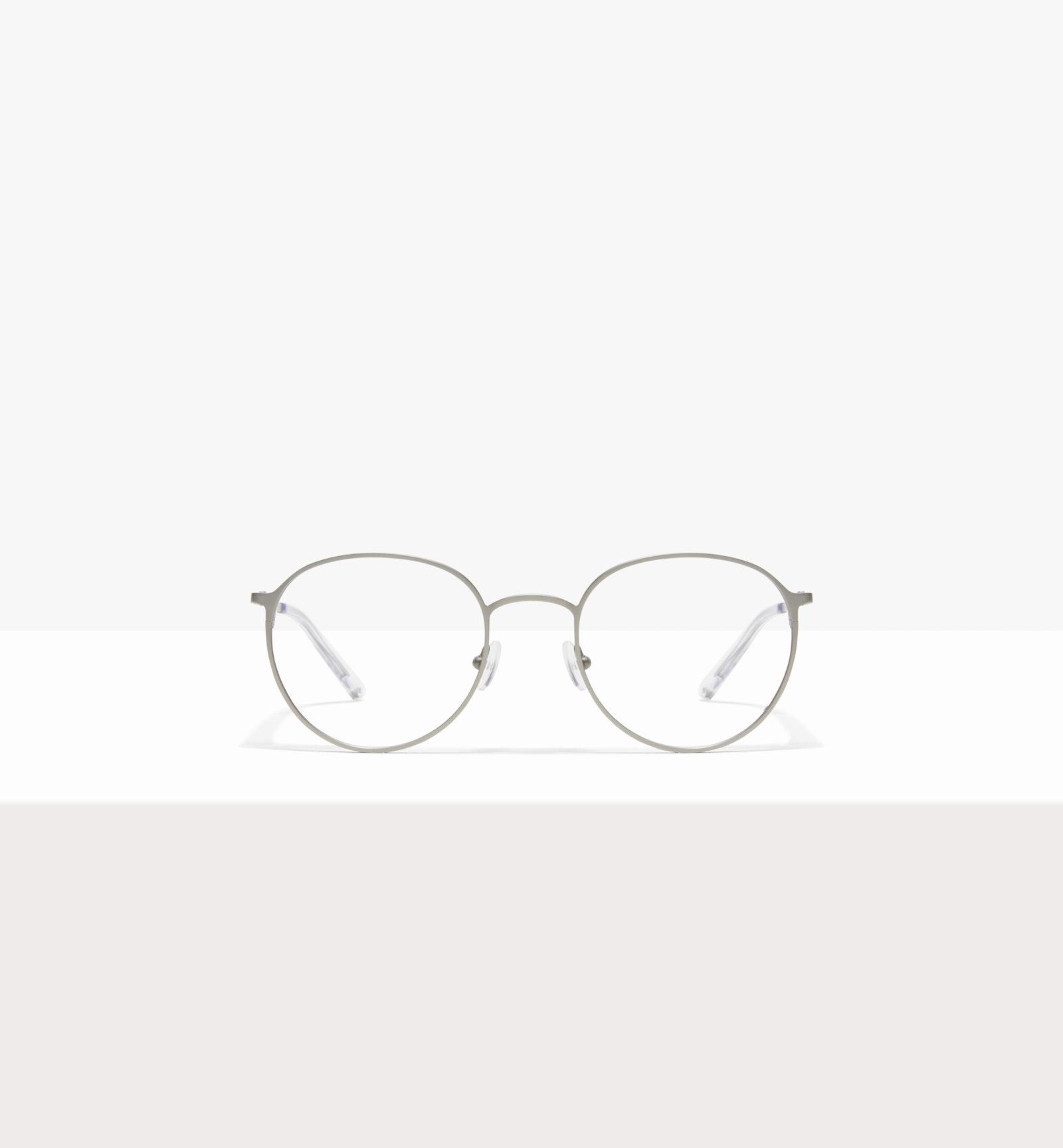 Affordable Fashion Glasses Round Eyeglasses Men Ridge Silver
