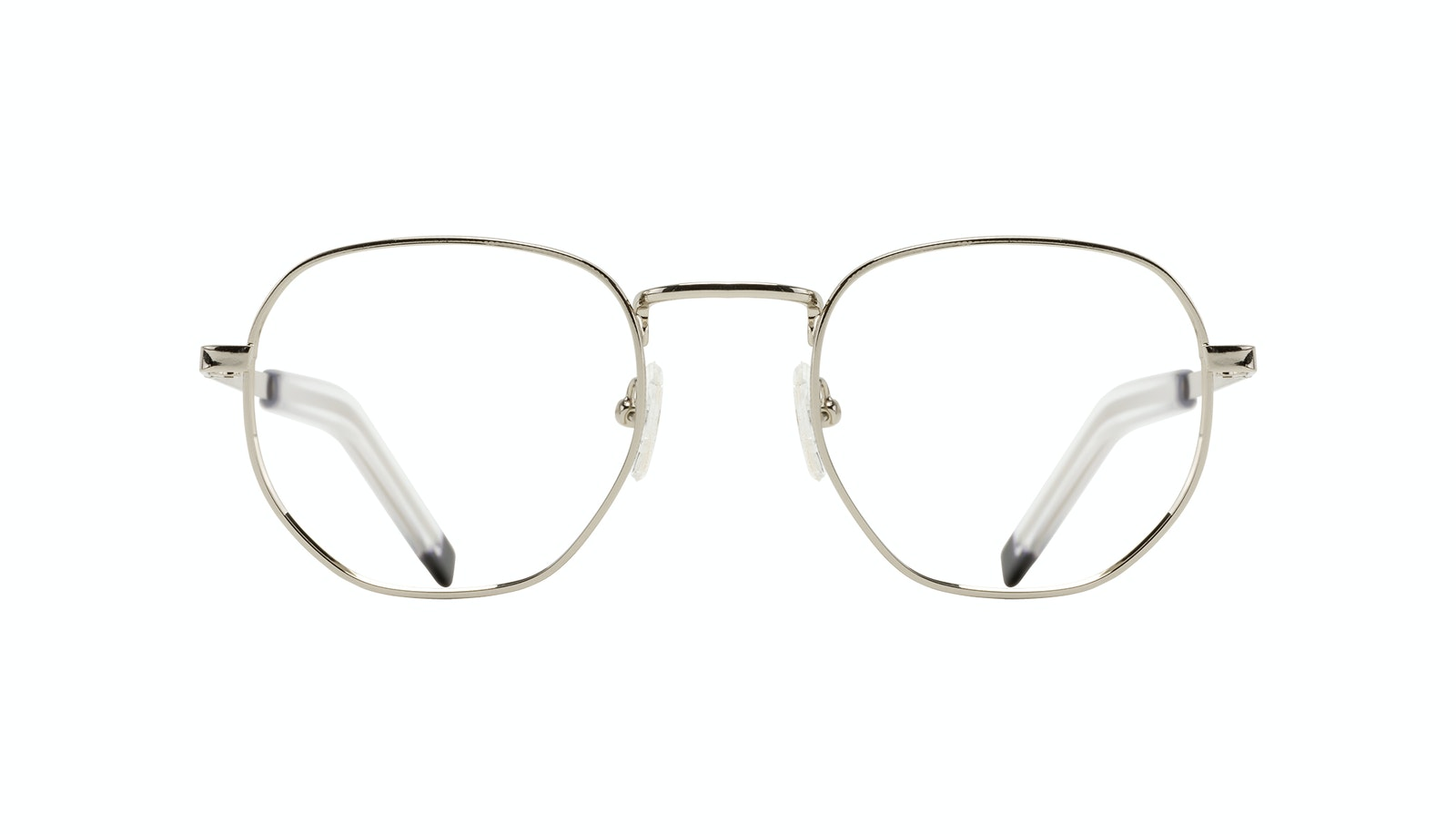 Affordable Fashion Glasses Round Eyeglasses Men Rise Silver