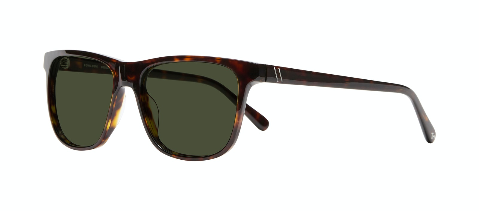 Affordable Fashion Glasses Square Sunglasses Men River Tortoise Tilt