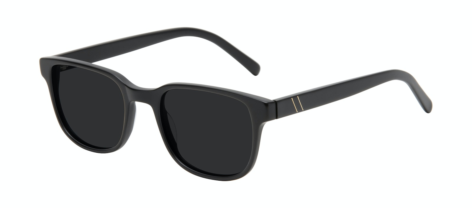 Affordable Fashion Glasses Square Sunglasses Men Role Black Matte Tilt