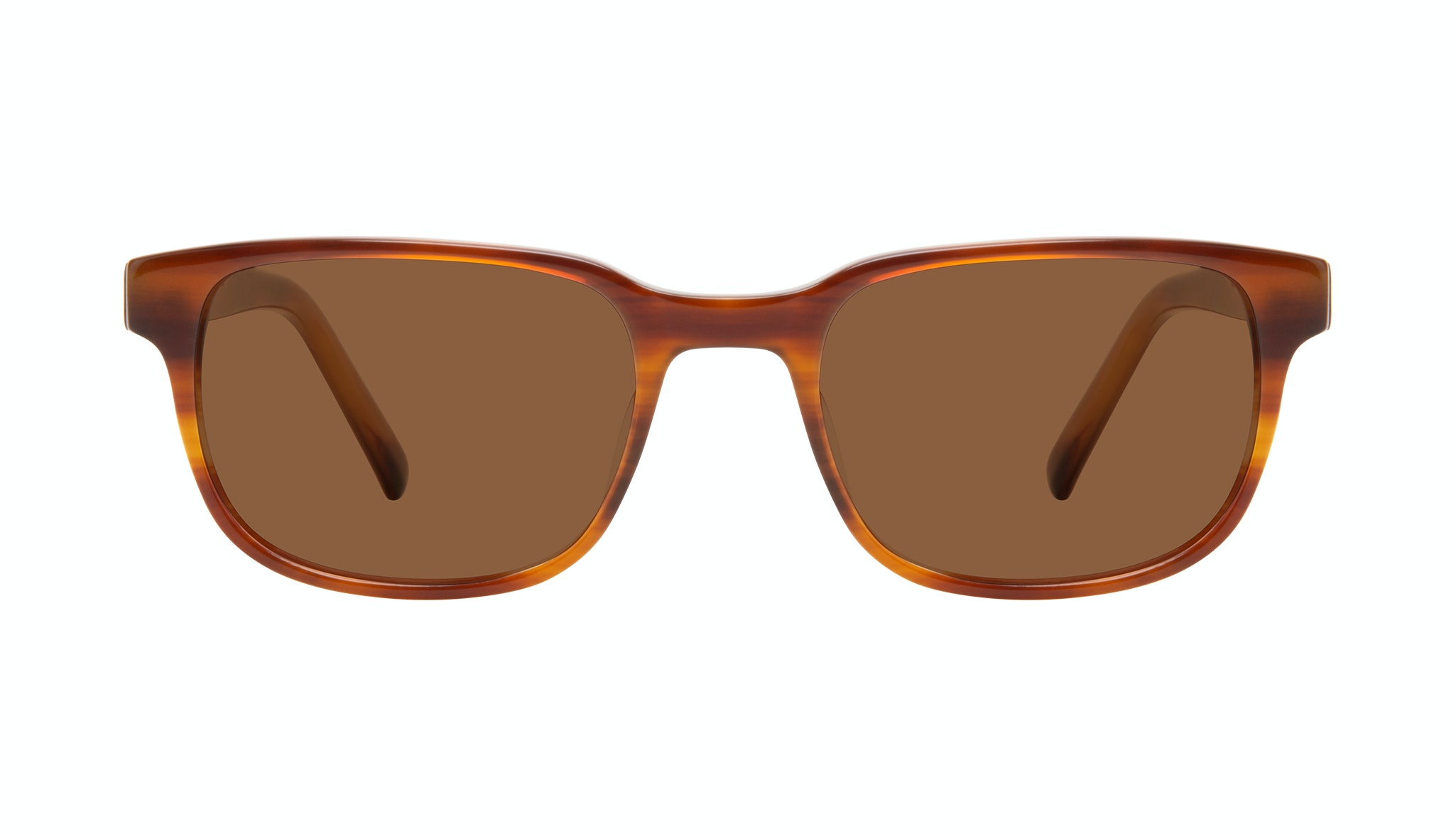 Affordable Fashion Glasses Square Sunglasses Men Role Havana Front