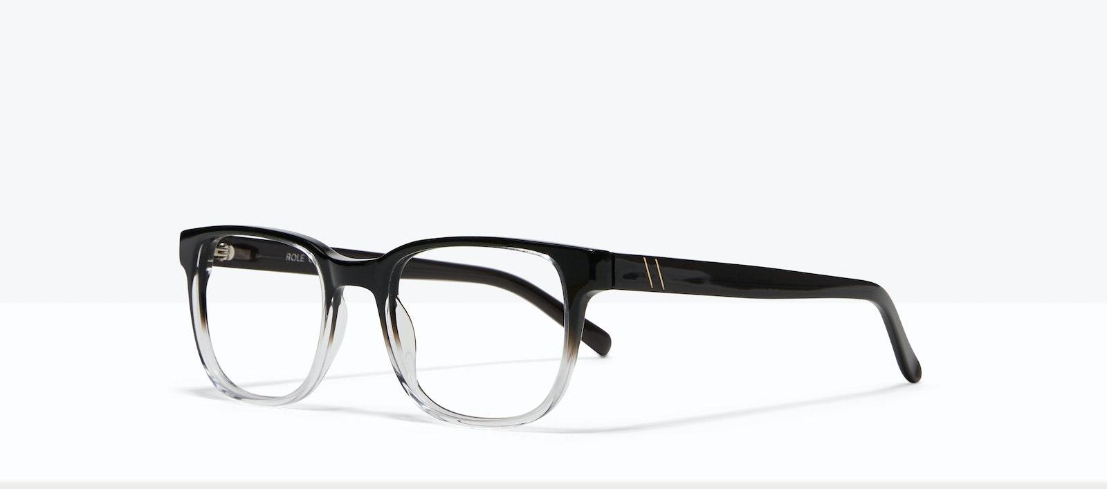 Affordable Fashion Glasses Square Eyeglasses Men Role Onyx Clear Tilt
