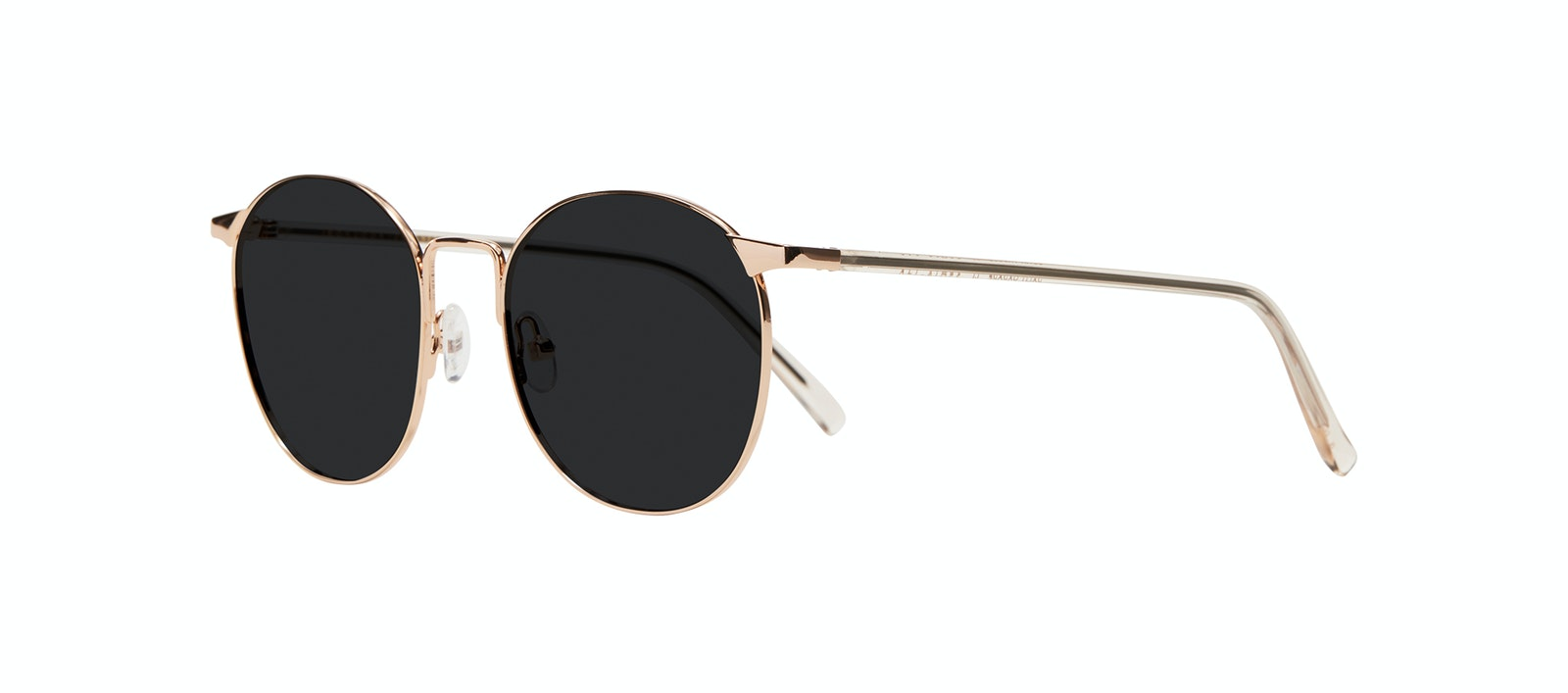 Affordable Fashion Glasses Round Sunglasses Women Romy Petite Aurore Tilt