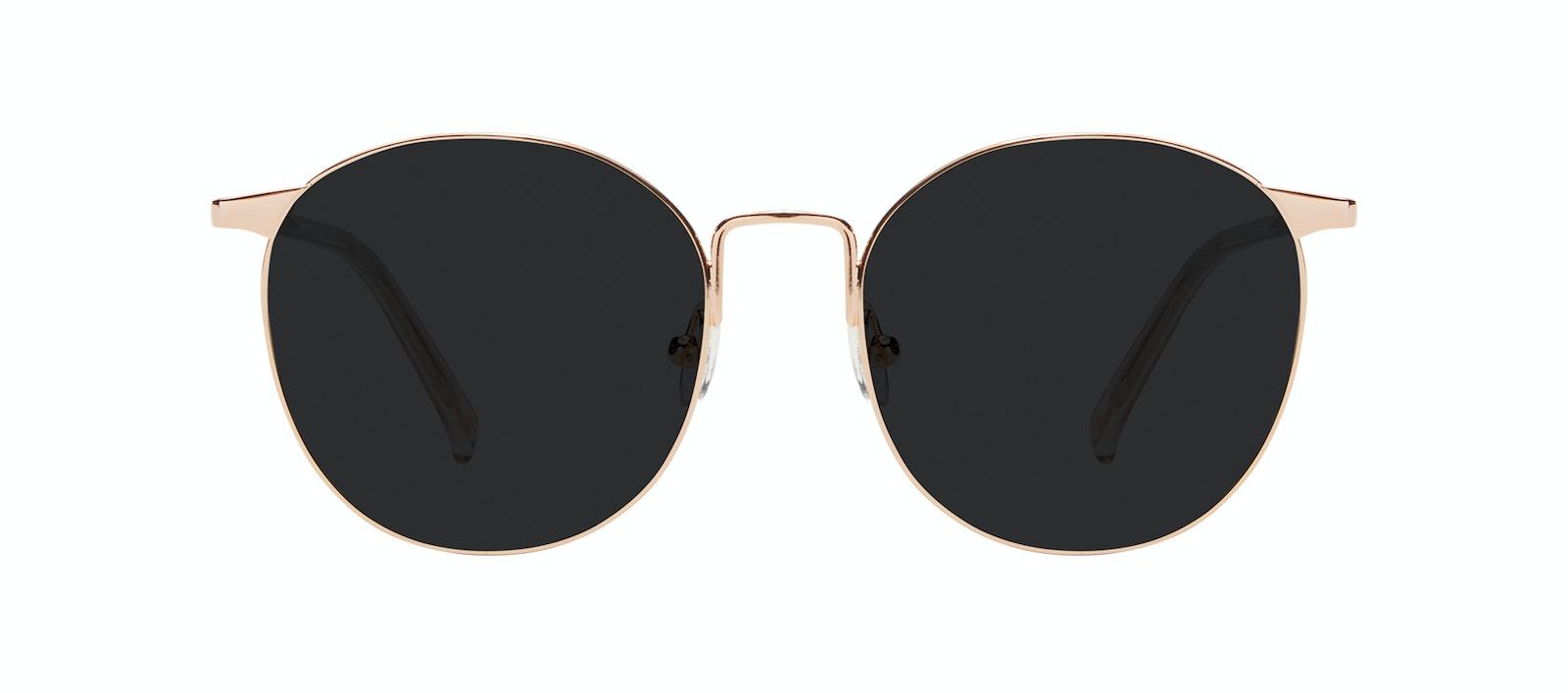 Affordable Fashion Glasses Round Sunglasses Women Romy Petite Aurore Front
