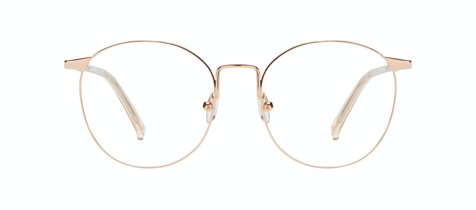 Affordable Fashion Glasses Round Eyeglasses Women Romy Petite Aurore Front