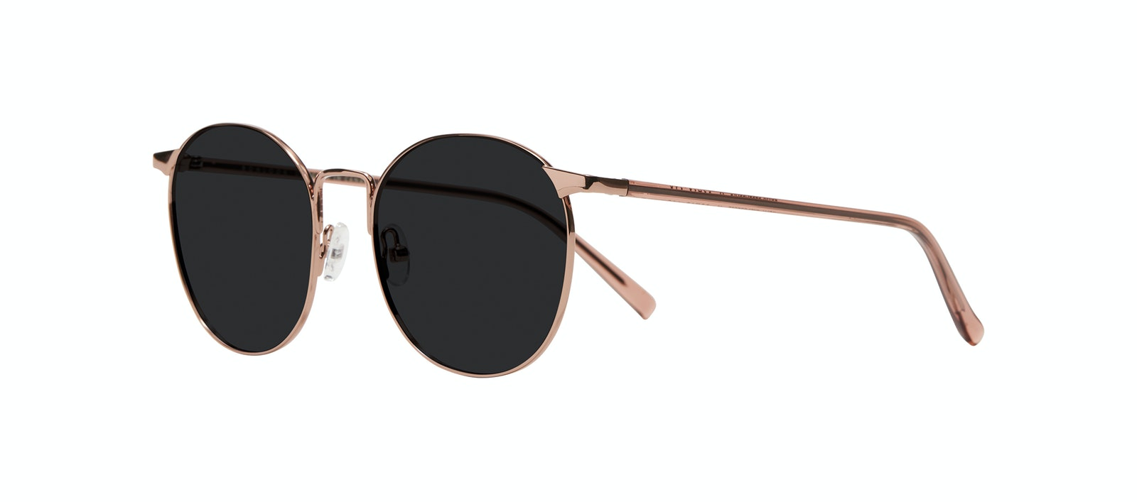 Affordable Fashion Glasses Round Sunglasses Women Romy Petite Crepuscule Tilt