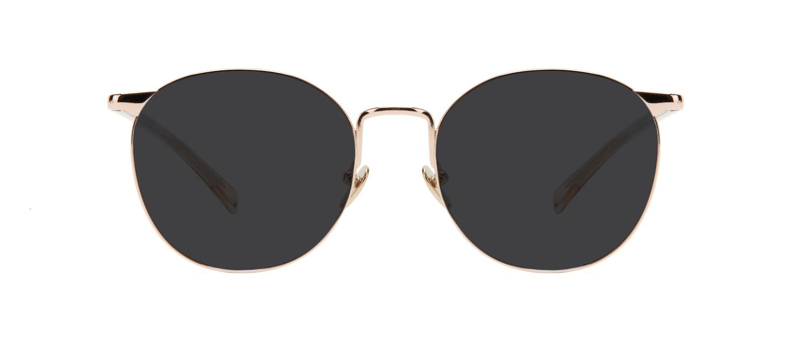 68e871b311 Affordable Fashion Glasses Round Sunglasses Women Romy Aurore Front