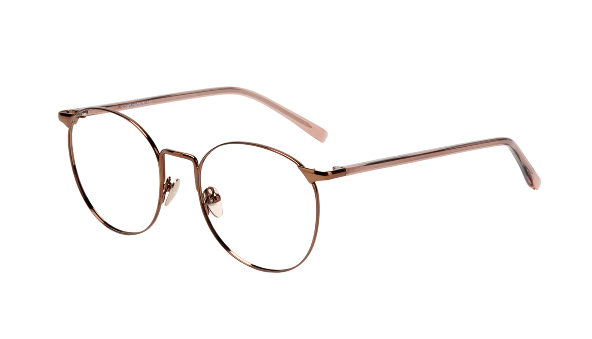 Affordable Fashion Glasses Round Eyeglasses Women Romy Crepuscule Tilt