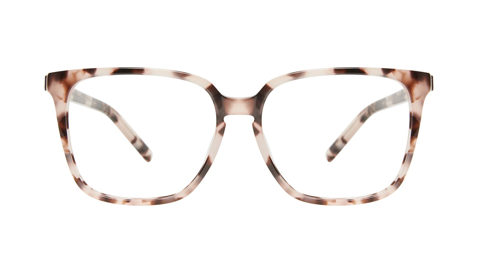Affordable Fashion Glasses Square Eyeglasses Women Runway Marbled Pink