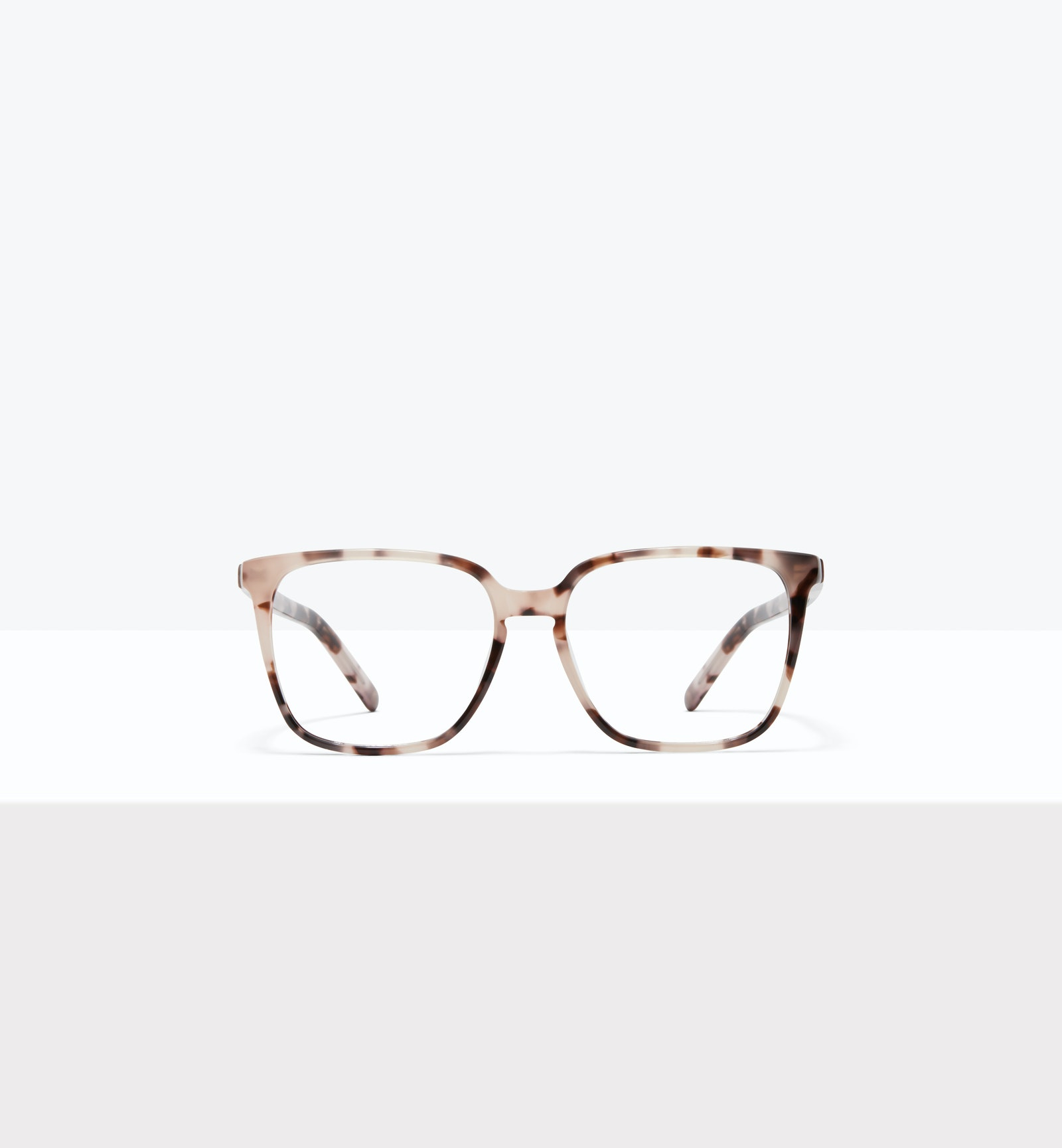 Affordable Fashion Glasses Square Eyeglasses Women Runway S Marbled Pink