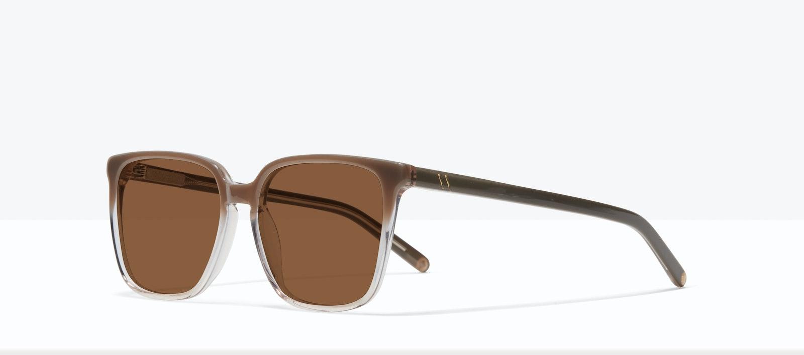 Affordable Fashion Glasses Square Sunglasses Women Runway S Smokey Ombré Tilt