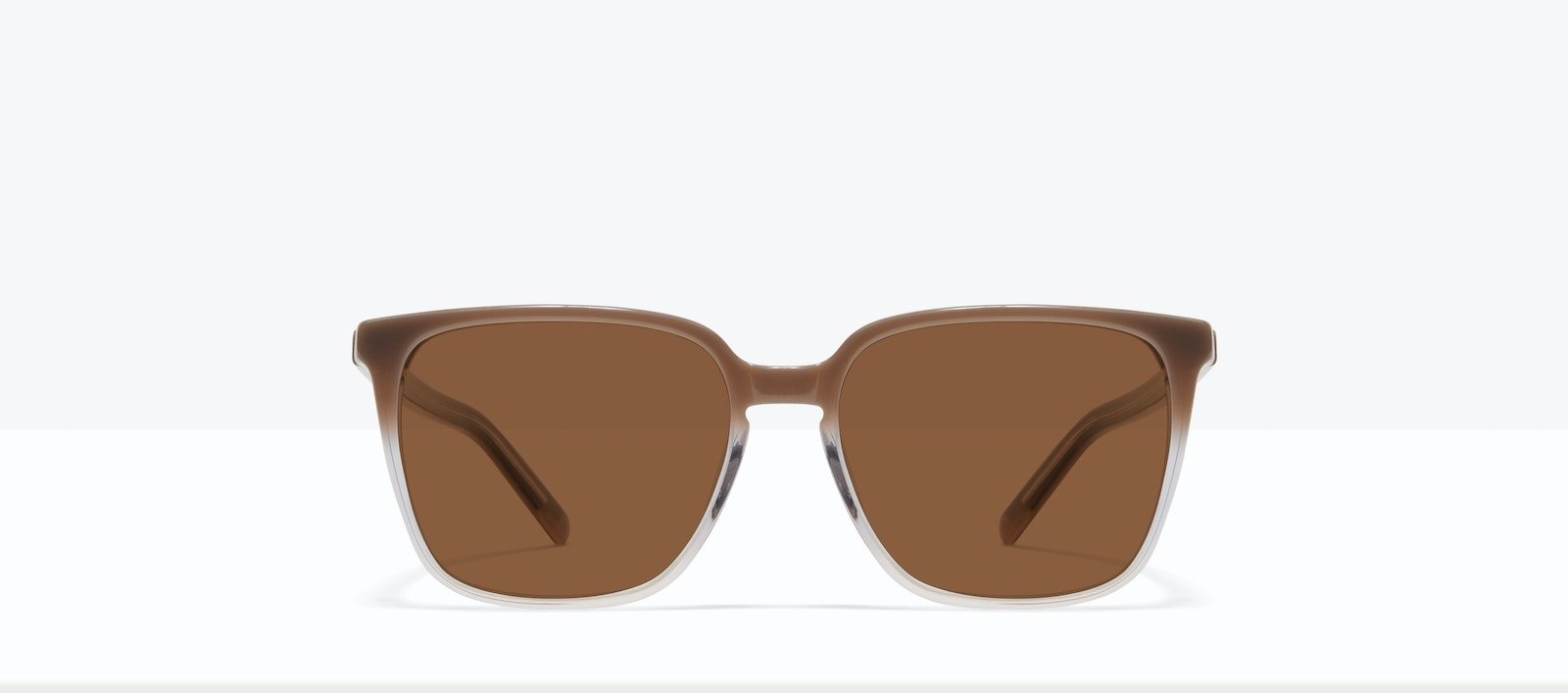 Affordable Fashion Glasses Square Sunglasses Women Runway S Smokey Ombré Front