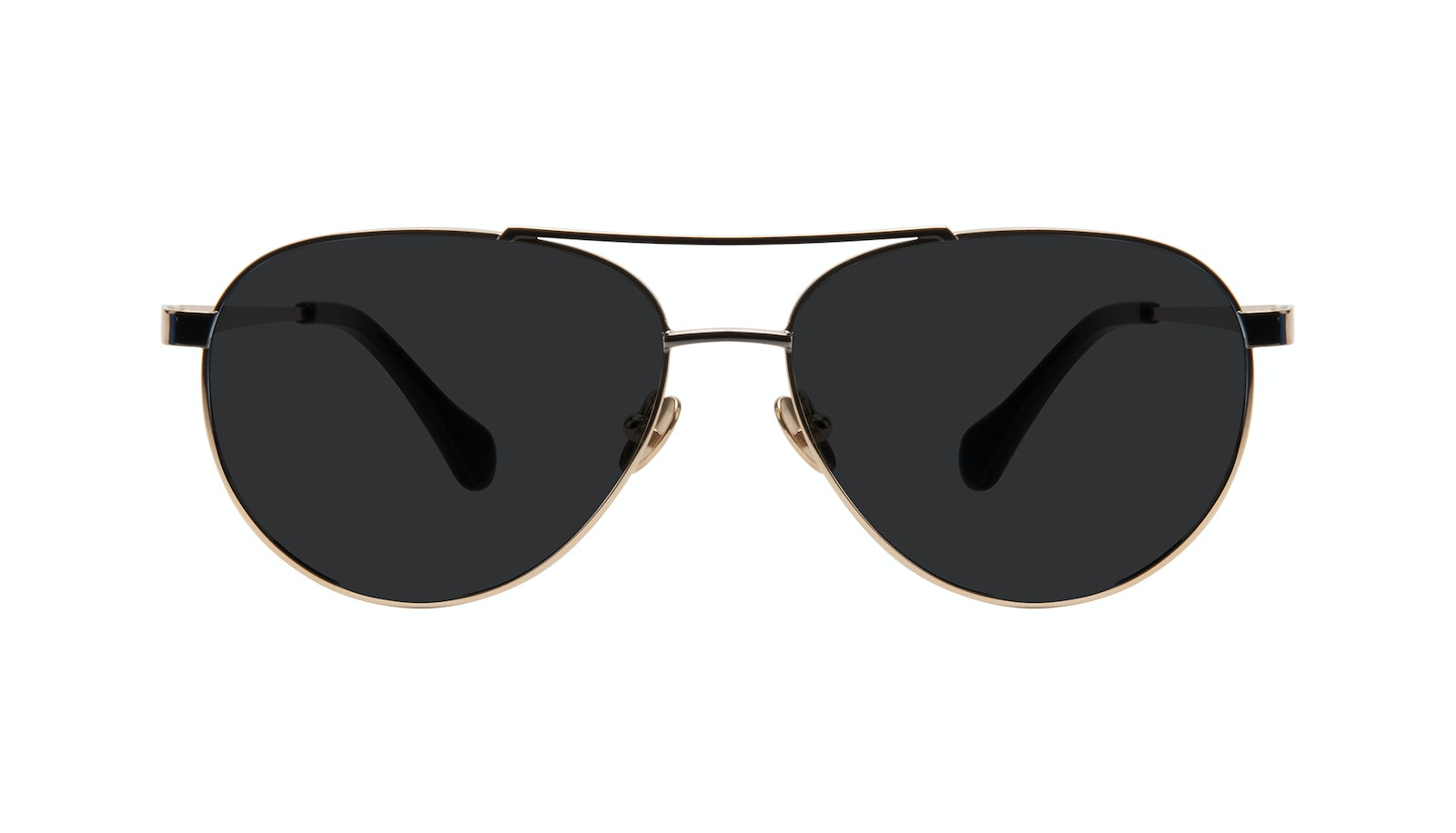 Affordable Fashion Glasses Aviator Sunglasses Women Boyfriend Deep Gold