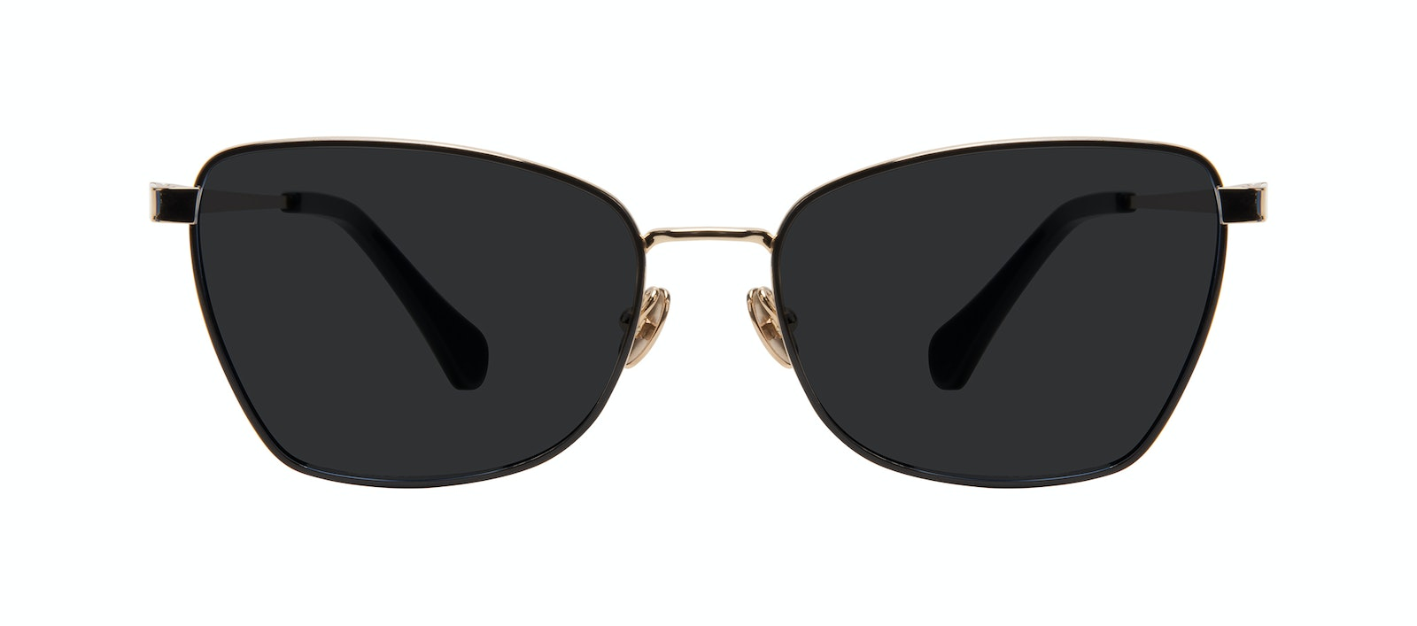 Affordable Fashion Glasses Cat Eye Sunglasses Women Fancy Deep Gold Front
