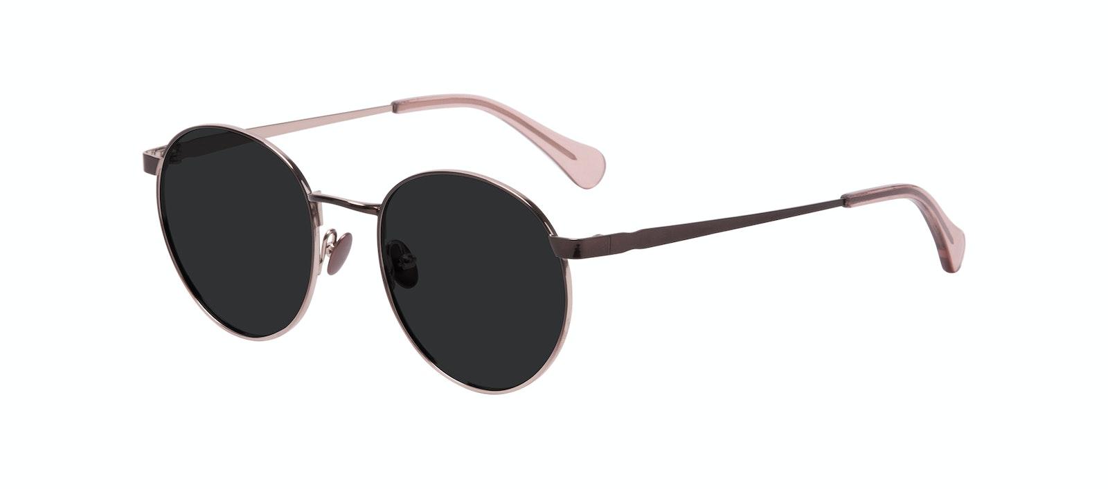 Affordable Fashion Glasses Round Sunglasses Women Foundry Pink Terra Tilt