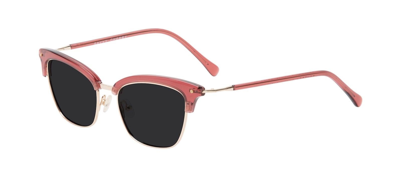 Affordable Fashion Glasses Cat Eye Sunglasses Women Savvy Cherry Tilt