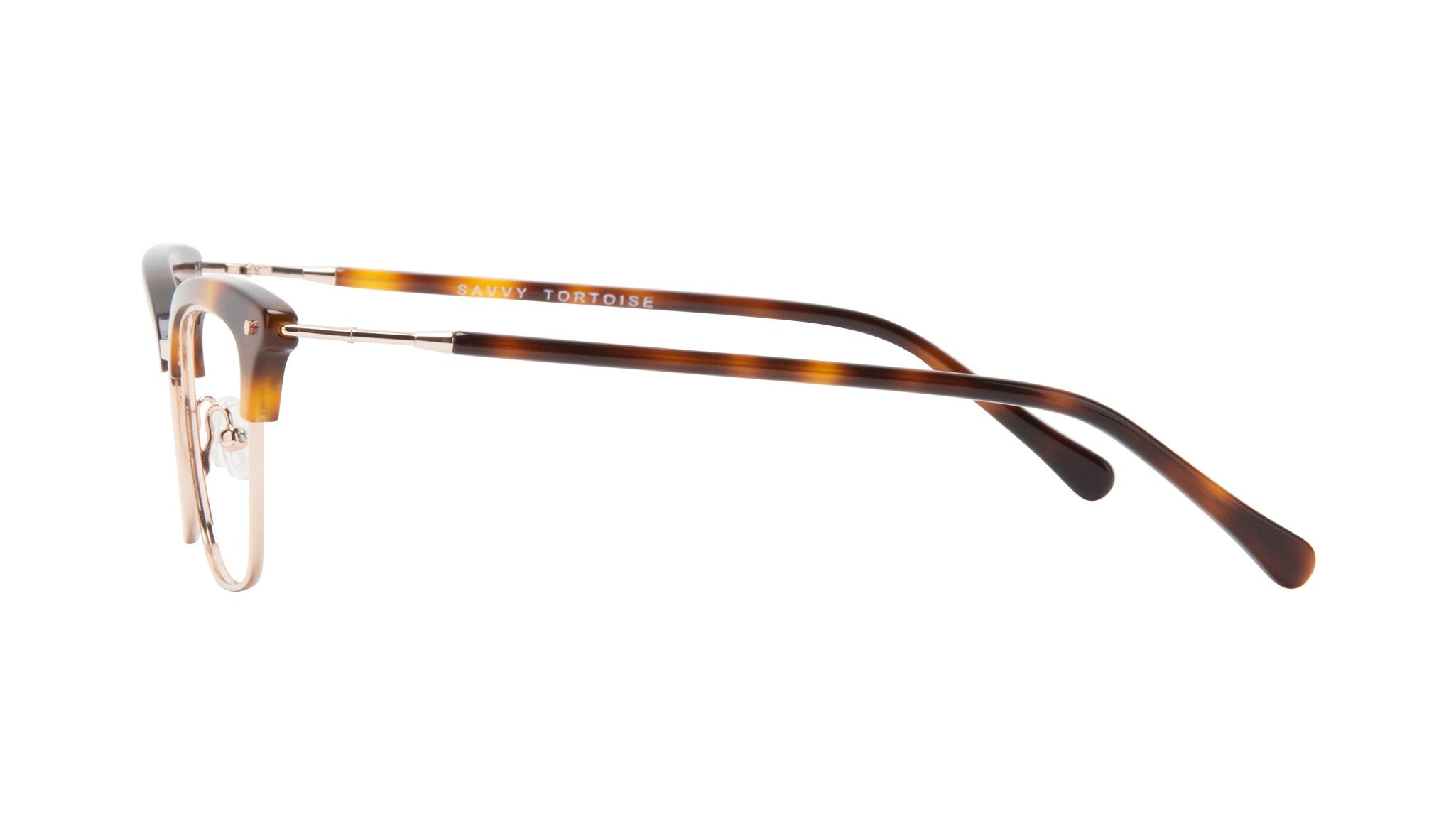 Affordable Fashion Glasses Cat Eye Eyeglasses Women Savvy Tortoise Side