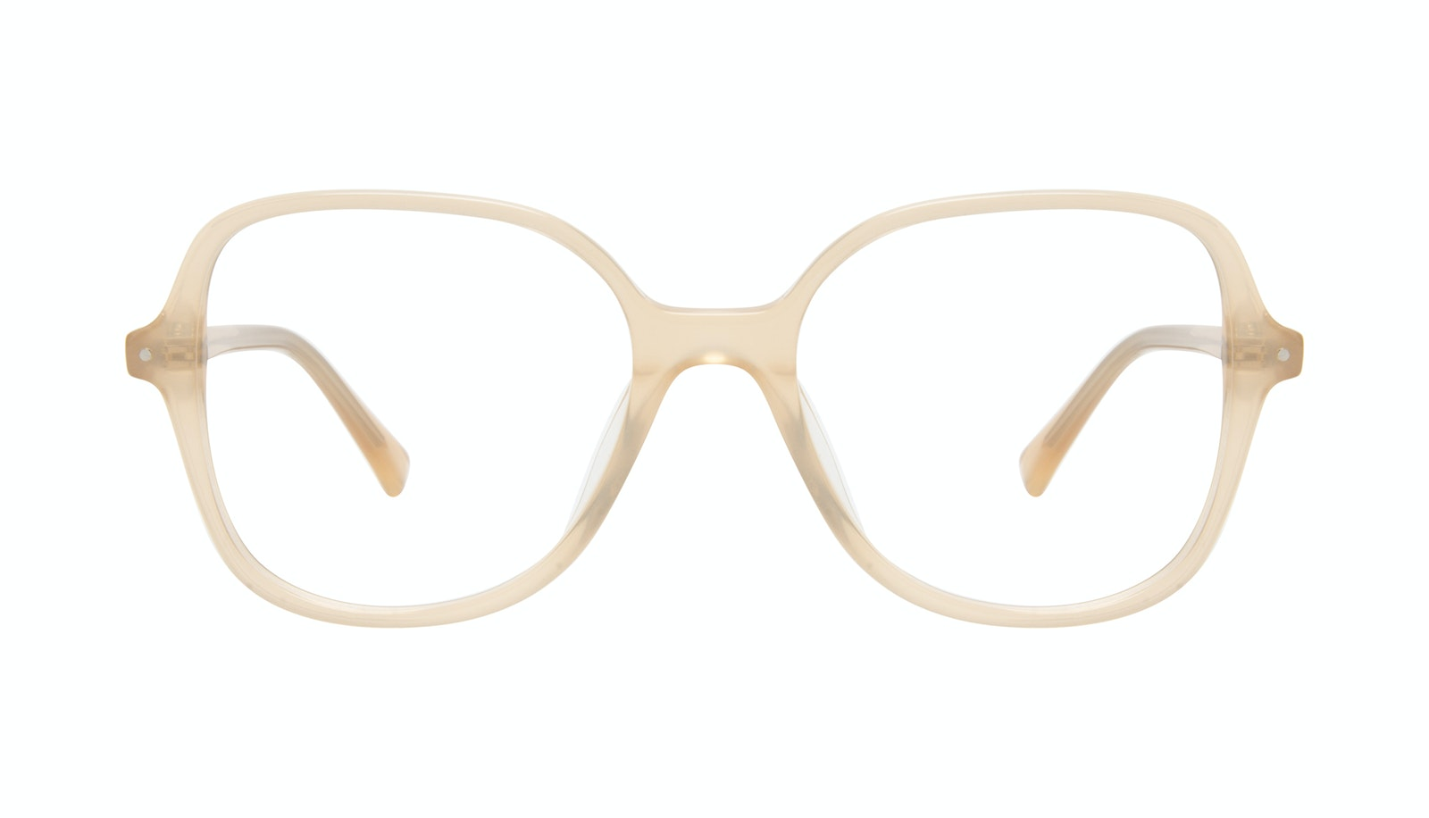Affordable Fashion Glasses Square Eyeglasses Women Scene Peach