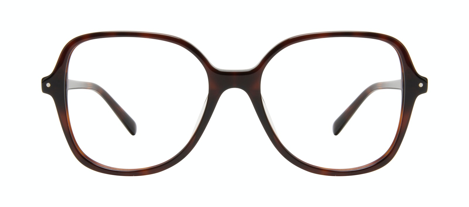 Affordable Fashion Glasses Square Eyeglasses Women Scene Tortoise Front
