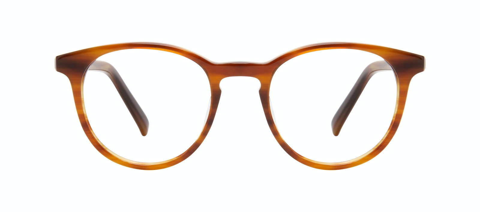 Affordable Fashion Glasses Round Eyeglasses Men Select Havana Front