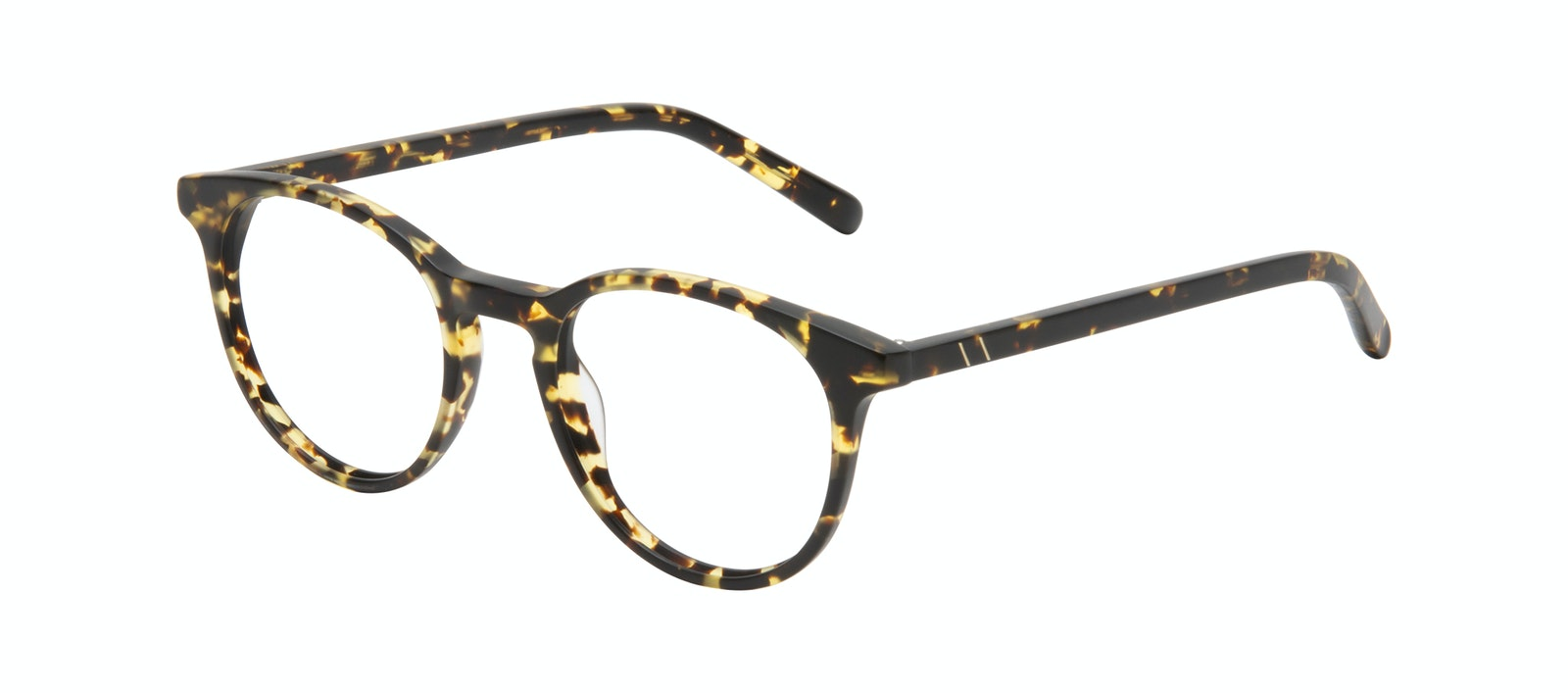 Affordable Fashion Glasses Round Eyeglasses Men Select Tortoise Matte Tilt