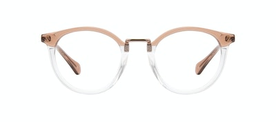 Affordable Fashion Glasses Round Eyeglasses Women Self Rose Front