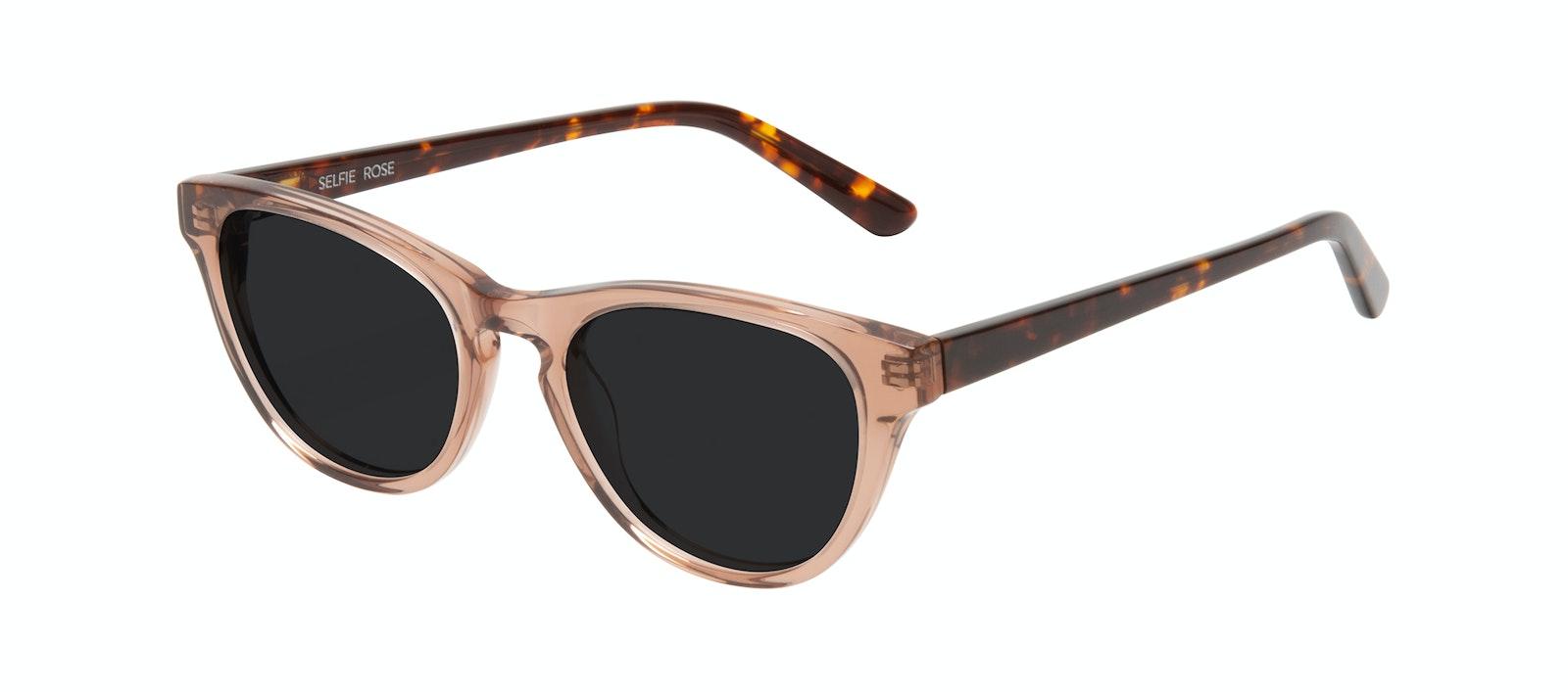 Affordable Fashion Glasses Cat Eye Sunglasses Women Selfie Rose Tilt