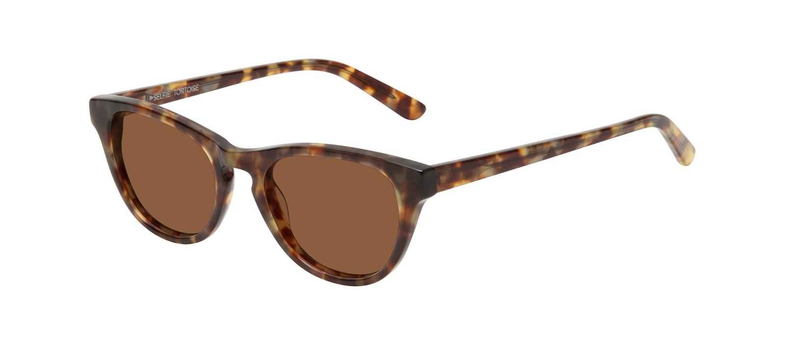 Affordable Fashion Glasses Cat Eye Sunglasses Women Selfie Tortoise Tilt
