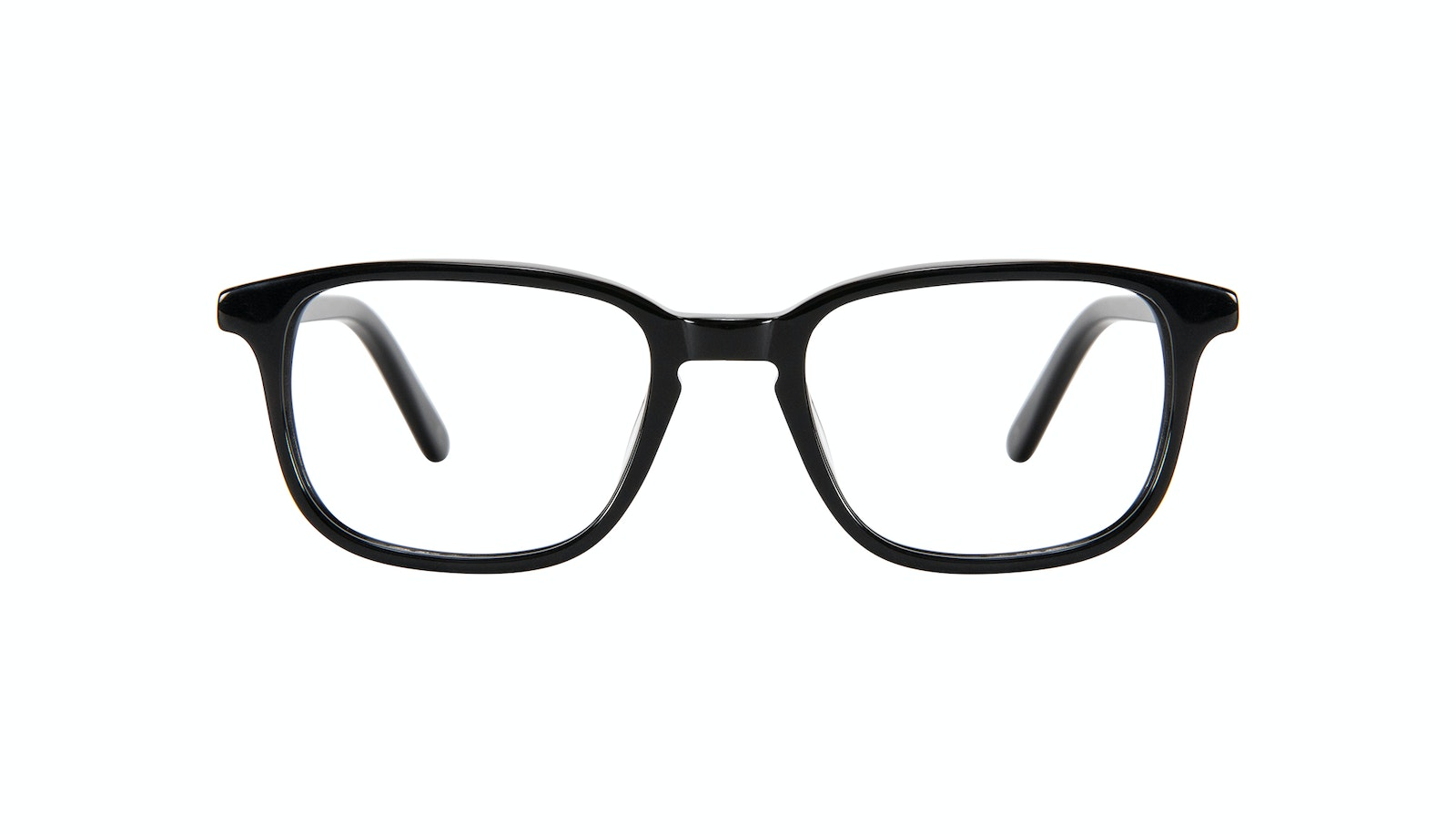 Affordable Fashion Glasses Square Eyeglasses Kids Sharp Junior Black
